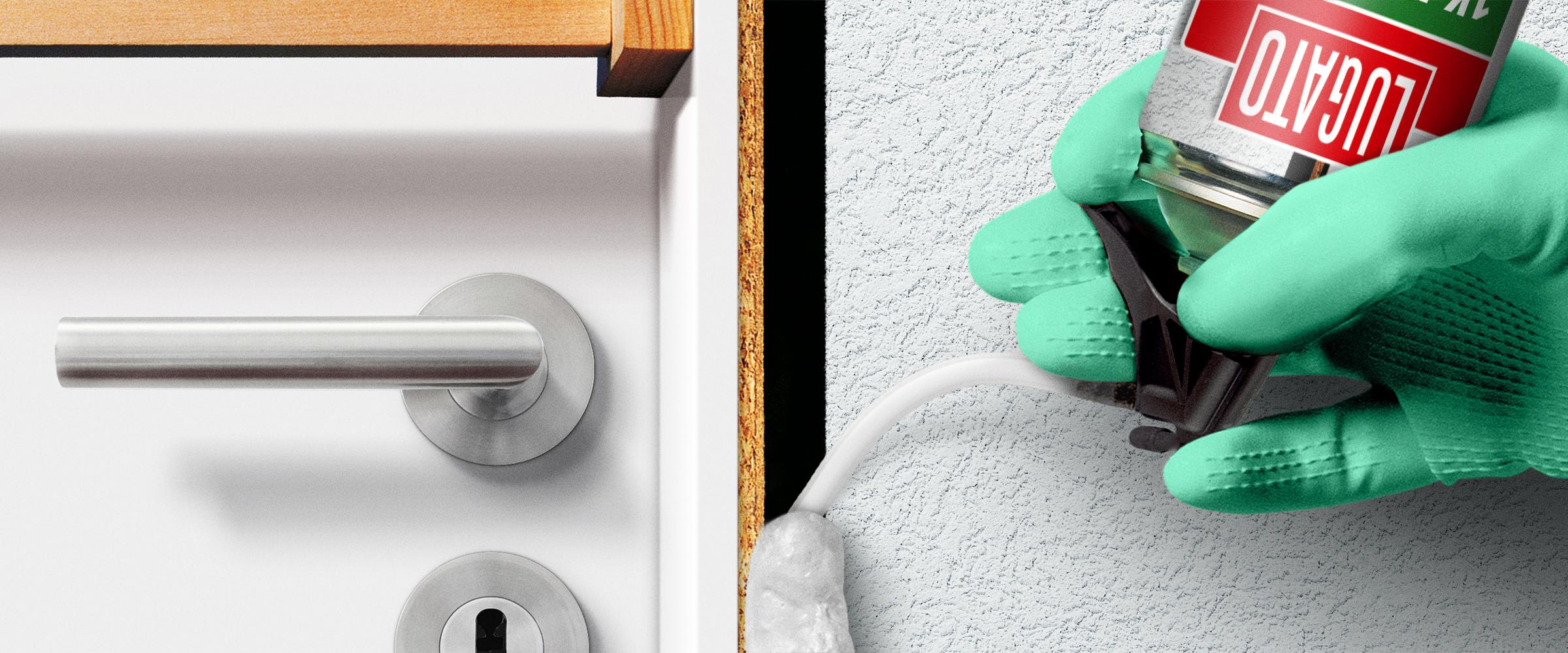 montieren und hinterf llen von fenstern und t ren lugato. Black Bedroom Furniture Sets. Home Design Ideas